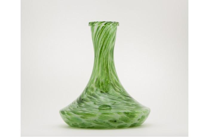 Алебастр белый + зелёный