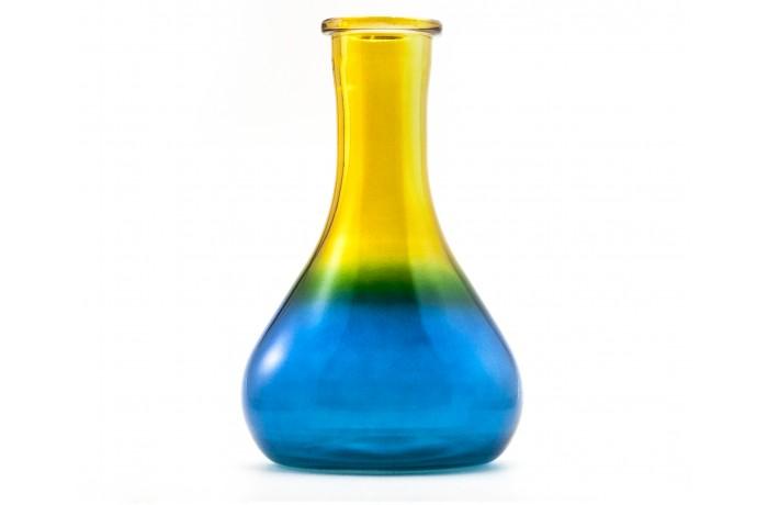 Градиент синий-жёлтый (крашеная)